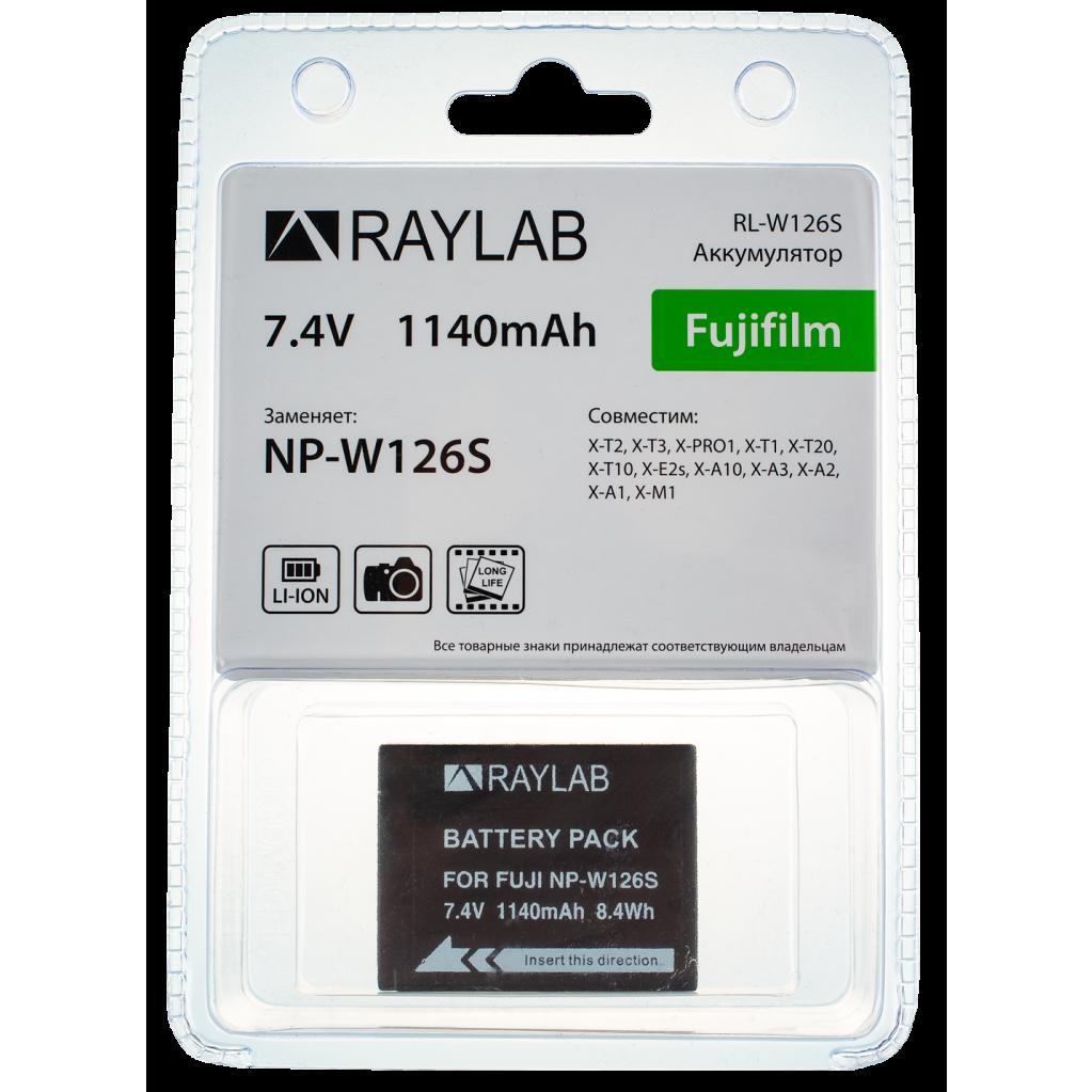 Аккумулятор Raylab RL-W126S 1140мАч