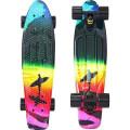"Y-Scoo Fishskateboard Print 22"" - скейтборд с сумкой Offshore"