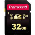 Карта памяти Transcend SDHC 700S Class 10 UHS-II U3 (285/180 MB/s) 32GB