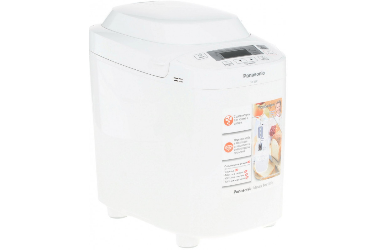 Хлебопечь Panasonic SD-2501WTS белый