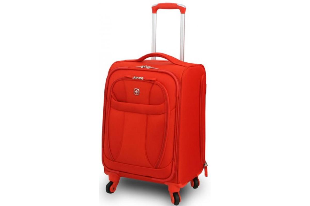 "Чемодан WENGER ""NEO LITE Pilot Case"", оранжевый, полиэстер, 35х23x58 см, 40 л, 72087724"