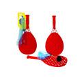 Набор для тенниса 1toy - ракетки пластмассовые и мяч с хвостом