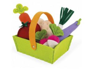 Janod Набор овощей в корзинке: 8 предметов