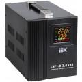 Стабилизатор напряжения IEK СНР1-0- 2 кВА   однофазный, цифровой, 220В 2000Вт, вх.140-270В