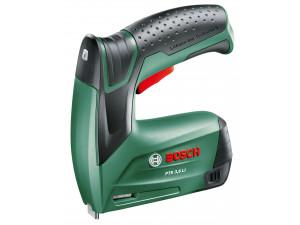 Степлер акк. Bosch PTK 3.6 Li (0.603.968.120)  3.6В 1.3Ач LiION 30уд/мин скобы 4-10x11.4мм