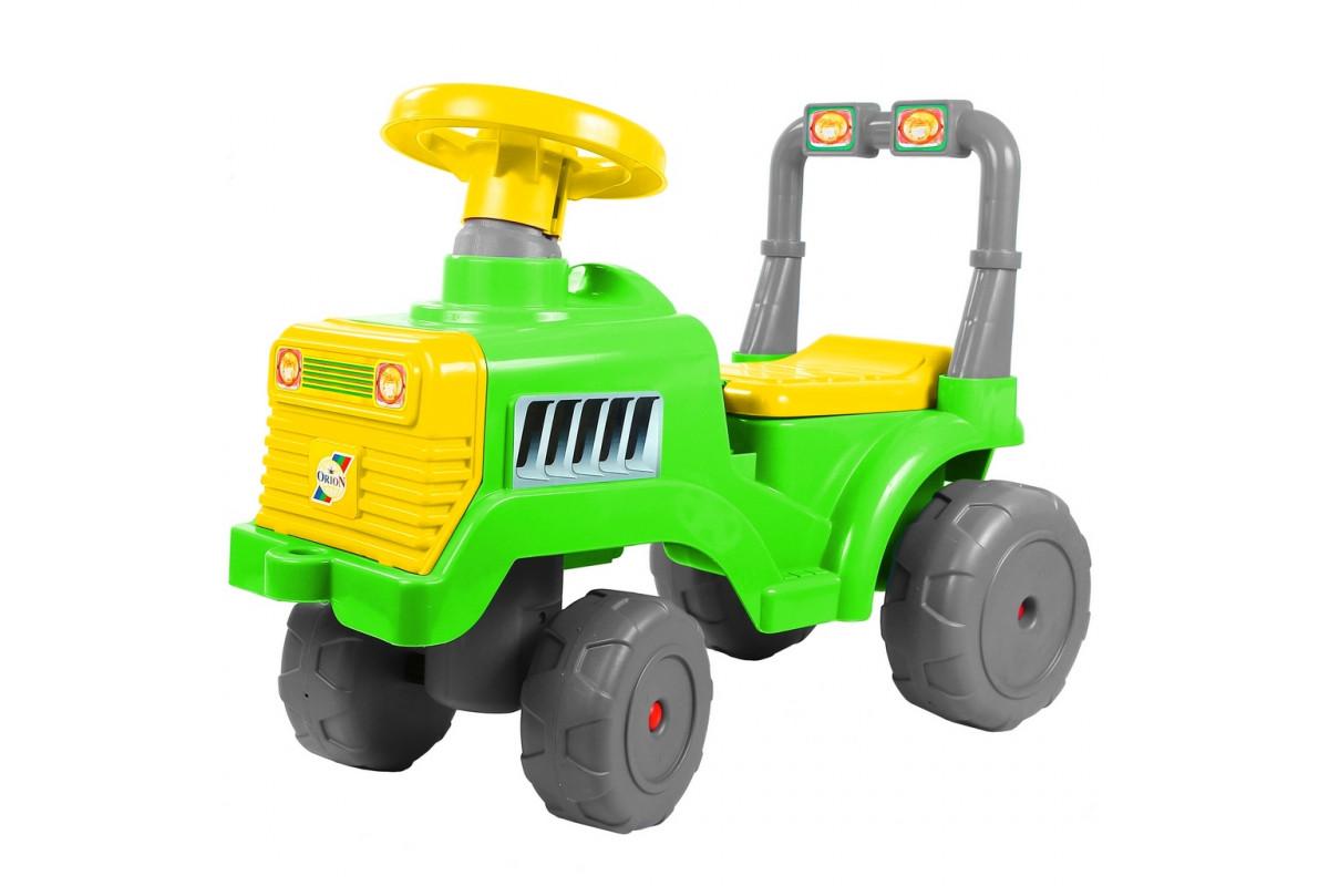 Каталка Трактор RT В зелено-желтый