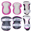 Protective Junior Set  XS (25-50KG ), Розовый