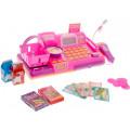 Boley Касса-калькулятор с микрофоном в ассортименте (синяя или розовая)