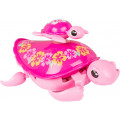 Moose Little Live Pets - интерактивная черепашка с малышом Розовая