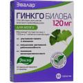 Гинкго Билоба Эвалар® 120 мг, таб. №60