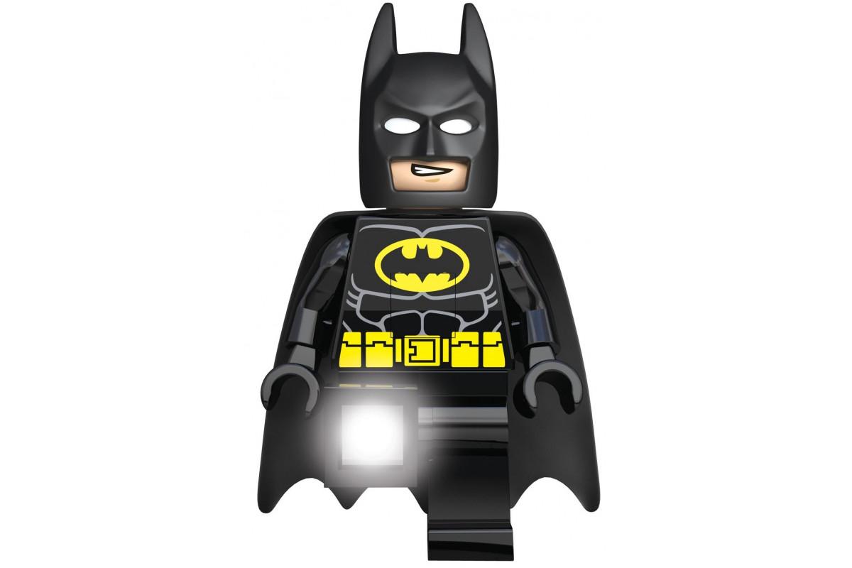 Игрушка-минифигура-фонарь Lego Batman Movie- Batman (святящиеся глаза и ступни)