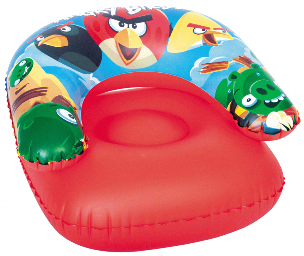 Bestway Детское кресло Angry Birds 96106