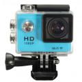 Экшн-камера Wifi 1080P W9C водонепроницаемая, синий