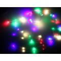 """Электрогирлянда Sh Lights """"Лучи"""", 120 разноцветных ультраярких минидиодов, адаптер 12В с контроллером, LDMS120-BL6-CM"""