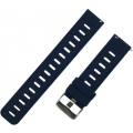 Ремешок силиконовый 22мм для Amazfit GTR47мм/ Pace/ Stratos/ Stratos+/ Stratos3, темно-синий