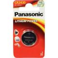 Батарейки Panasonic CR-2430EL/1B дисковые литиевые Lithium Power в блистере 1шт