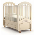 Детская кровать Nuovita Grano swing продольный Avorio/Слоновая кость