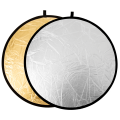 Отражатель 2в1 Raylab RF-01 золотистый/серебристый 80см