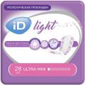 Урологические прокладкиiD Light Ultra mini28 шт