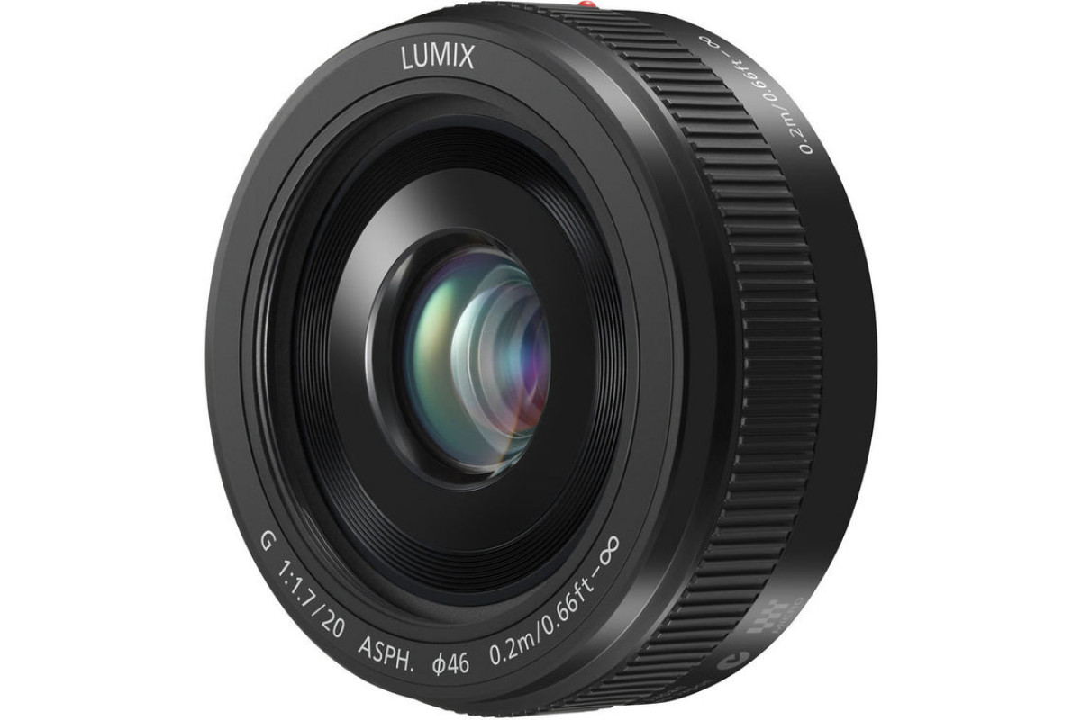 Объектив Panasonic Lumix G 20mm f/1.7 ASPH