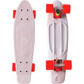 "Y-Scoo Fishskateboard 22"" - скейтборд с сумкой Grey-Red"
