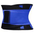 Фитнес пояс для похудения CleverCare, синий, размер XXL