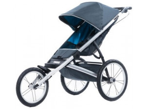 Thule Glide1 - детская коляска тёмно-серая