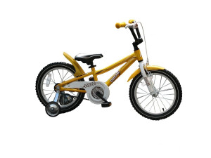 "Ride 16 - детский велосипед 16"" светло-желтый"
