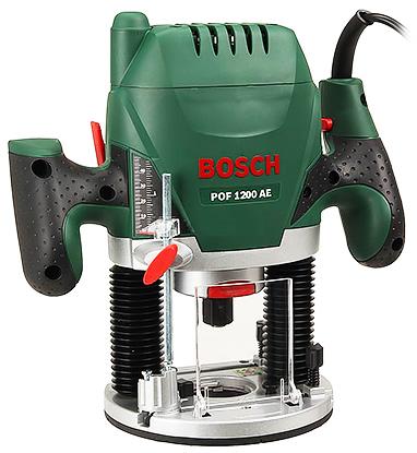 Фрезер Bosch POF 1200 AE (0.603.26A.100)  1200Вт 11000-28000об/мин макс.ход 55мм диам.хв.6/8мм