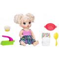 Baby Alive Малышка хочет есть - кукла Hasbro