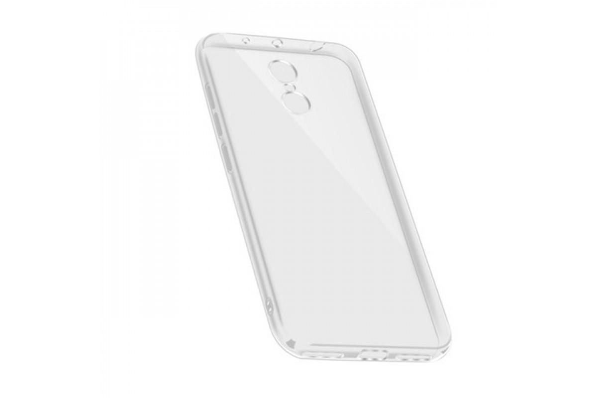 Чехол для смартфона Xiaomi Redmi Note 4/4X на MTK, Silicone (прозрачный), Dismac