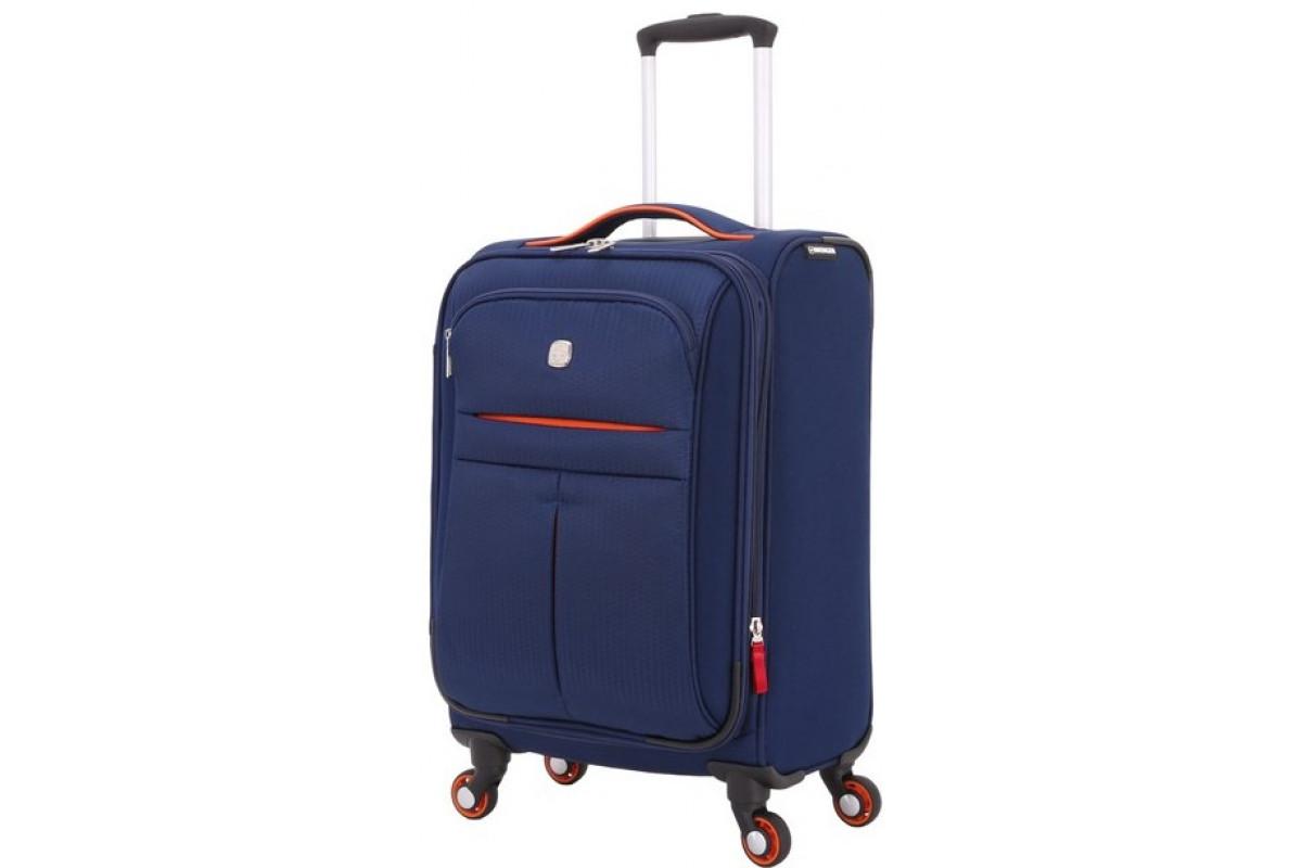 Чемодан WENGER AROSA, синий, полиэстер 750x750D добби, 48,3 x 18 x 34,4 см, 30 л, WG6593307154