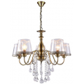 Люстра J-LIGHT IRIADA E14X5X60W BRONZE 1318/5