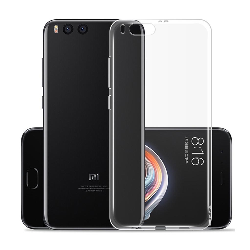 Чехол для смартфона Xiaomi Mi Note 3 Silicone (прозрачный), Dismac