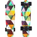 """Y-Scoo Fishskateboard Print 22"""" - скейтборд с сумкой Triddent"""