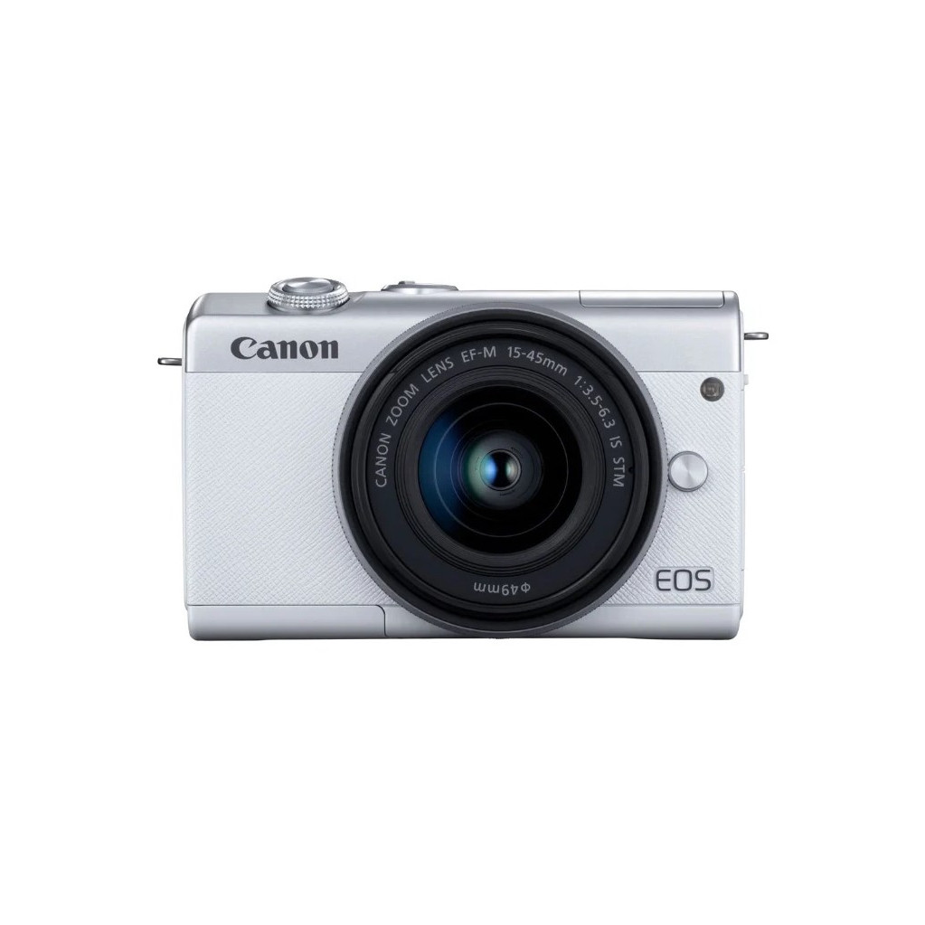Canon EOS M200 kit EF-M 15-45mm f/3.5-6.3 IS STM белый