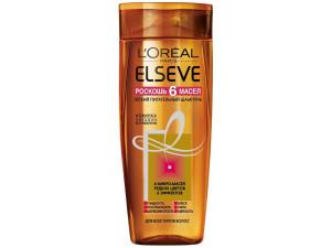 L'Oreal Elseve Шампунь для волос Роскошь 6 масел 250мл
