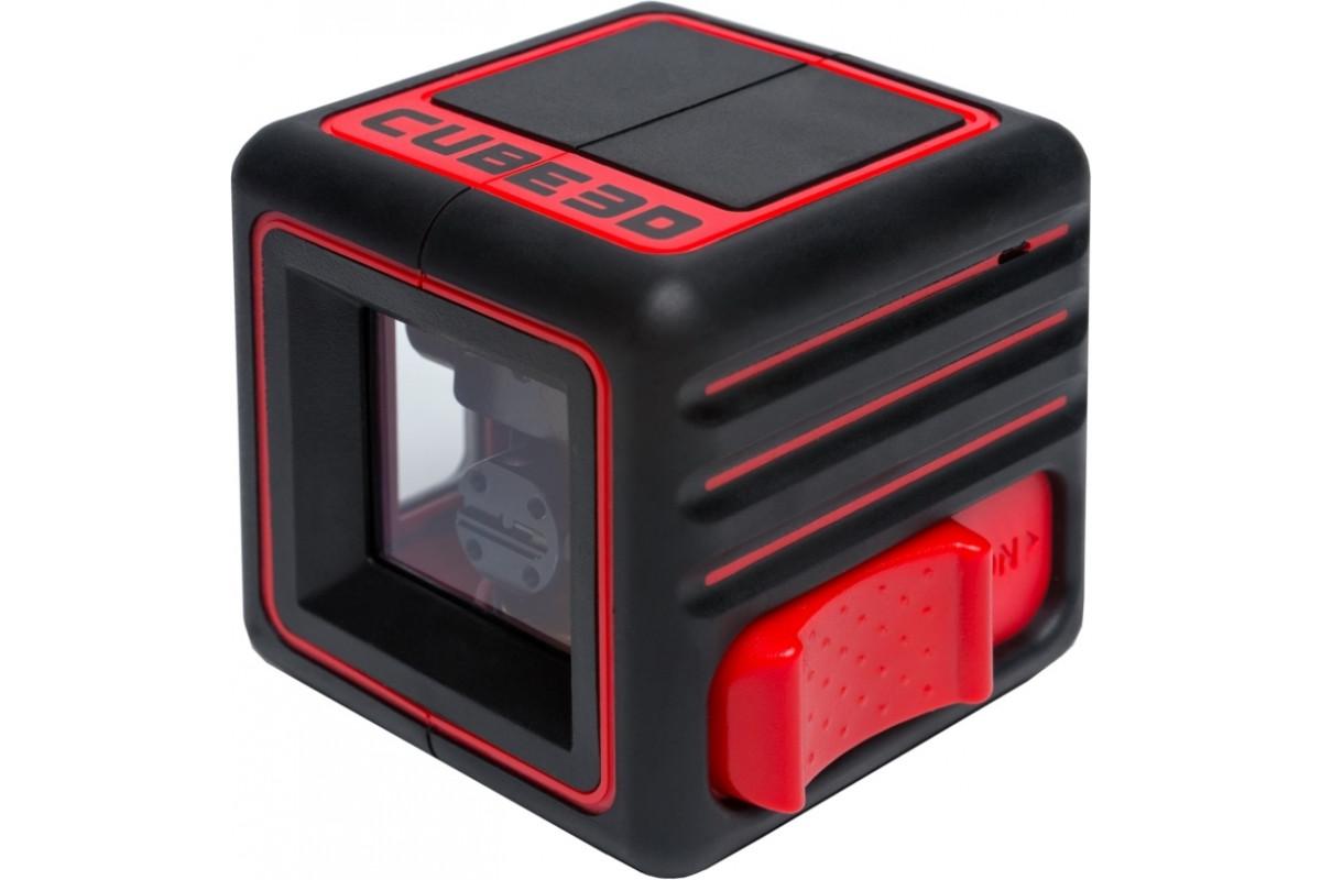 Лазерный уровень ADA Cube 3D Home Edition  1.5А штатив нейлоновая сумка 65х65х65мм до 20м