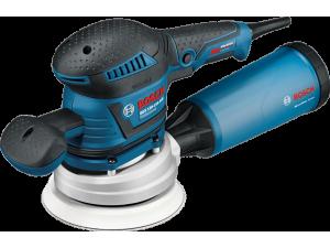 Шлифмашина орбитальная Bosch GEX 125-150 AVE (0.601.37B.102)  400Вт 5500-12000об/мин 125/150мм