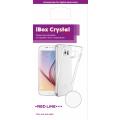 Чехол для смартфона Samsung Galaxy A21 Silicone iBox Crystal (прозрачный), Redline