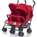 Baby Care City Twin - коляска прогулочная для двойни (Red)