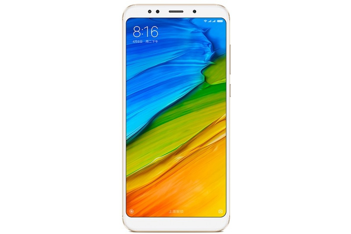 Смартфон Xiaomi RedMi 5 Plus 3/32Gb Gold EU