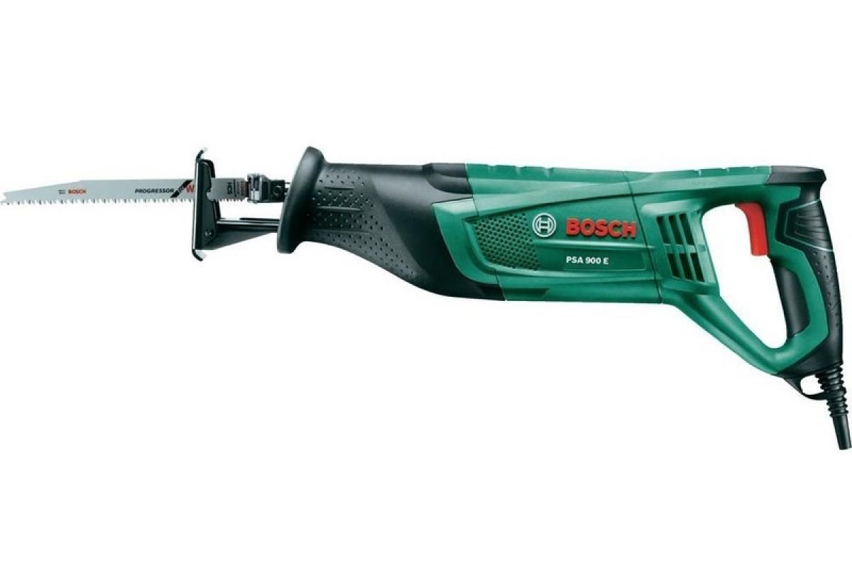 Ножовка Bosch PSA 900 E (0.603.3A6.000)  900Вт 0-2700ход/мин рабочий ход 28мм дер-205мм мет-20мм