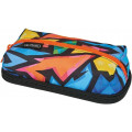Пенал-косметичка Herlitz CLEVER PACK, Neon Art