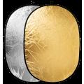 Отражатель 2в1 Raylab RF-01 золото/серебро 120*180см