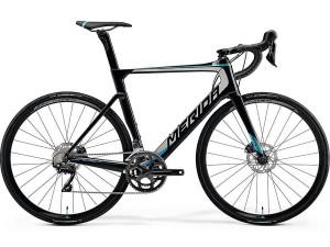 Велосипед Merida REACTO Disc-4000 MetallicBlack/Silver/Blue 2019 ML(54cm)(90897)