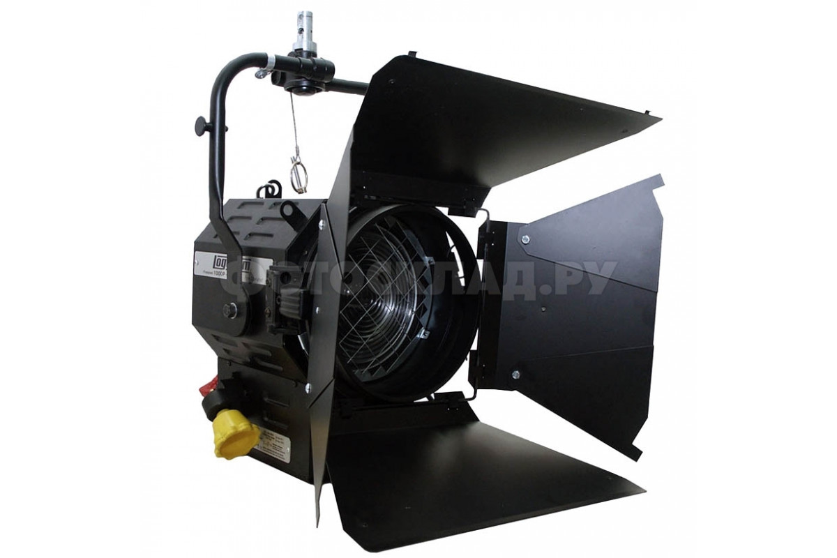 Осветитель галогенный Logocam Fresnel 1000P+