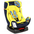 Lider Kids Флейт - автокресло детское 0-25 кг желтый принт сердечки