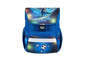 Herlitz Loop - школьный ранец PLUS Soccer, с наполнением