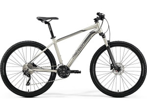 "Велосипед Merida Big Seven 80-D MattTitan/Black (Silver) 2019 M(17"")(80910)"